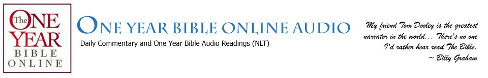 One Year Bible Online Audio